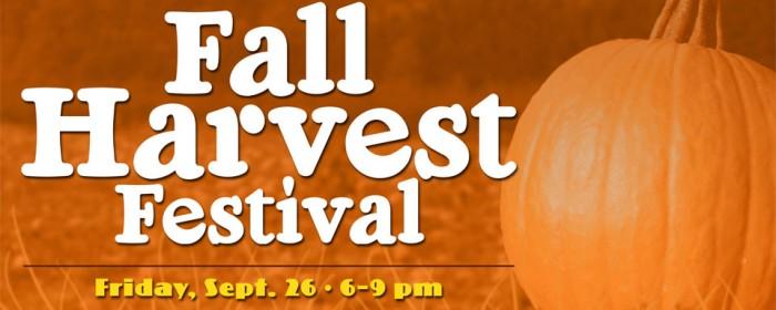 Redeemer's Fall Harvest Festival - Fri., Sept. 26