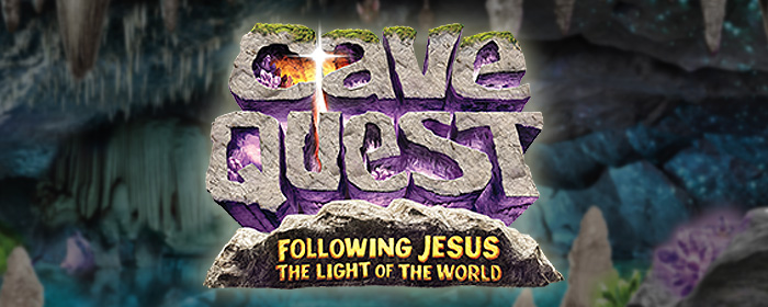 Cave Quest VBS at Redeemer, June 20-24